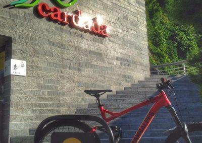 Stazione Orselina modello bici parking PUB