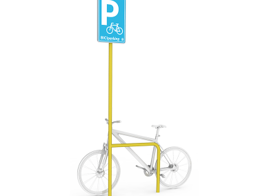 BICI parking SIGN